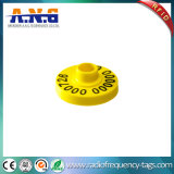 Identificação inteligente pequenas marcas de animal de RFID com a programação 865MHz - 867MHz
