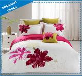 中国様式の綿の寝具の刺繍の羽毛布団カバー(セットしなさい)
