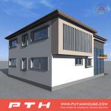 편리한 Prefabricated 가벼운 강철 별장 집