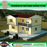 Предварительно созданный дешевые сегменте панельного домостроения дома Сборные стальные конструкции склады цена