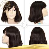 Парик 100% шнурка человеческих волос девственницы