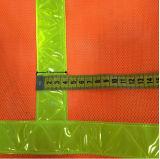 Maglia di sicurezza di Ciao-Forza con nastro adesivo trasversale riflettente (DFV1074)