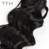 9A 급료 처리되지 않은 브라질인 100%년 Virgin 머리 직물 바디 파 머리 연장 사람의 모발 직물 뭉치 (TFH18)