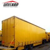 Blad van de Dekking van Tarp van de Vrachtwagen van het Gordijn van de Dekking van de Vrachtwagen van de Auto van pvc het Zij Vinyl
