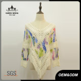 Women Hot Sale Crochet Chiffon Shirt for Summer
