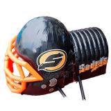 Túnel inflável personalizado Chad365 do capacete de futebol