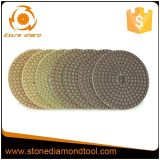 Diamond Floor Wet / Dry Polishing Abrasive Pads for Granite / Marble