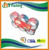 Cinta adhesiva cristalina del embalaje con el dispensador