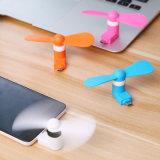 휴대용 인조 인간 전화 최고 벙어리 USB 냉각기 마이크로 소형 팬