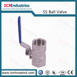 Válvula de Esfera de sanitários, SS316 Válvula de Esfera de gás de alta pressão