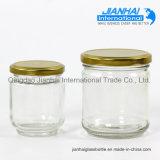 De lege Jampot van het Glas van de Kruik van de Honing van de Kruik van de Opslag van het Voedsel van het Glas