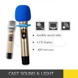 Портативный микрофон для Karaoke, TV карманнаяа ЭВМ UHF беспроволочный, PC