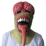 Tx Latest Design Full Face Terror Creep Fancy Dress Animal Latex Halloween Mask