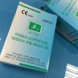 Aghi di agopuntura della maniglia dell'acciaio inossidabile di eliminazione senza tubo