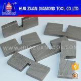 Segment van de Diamant van het Graniet van het Segment van de Steen van het Segment van het Blad van de Zaag van de Steen van het Type van U van de hoge Efficiency het Unieke Scherpe