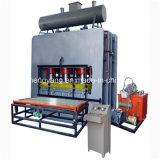 Raspando da melamina quente da imprensa das placas a máquina de estratificação