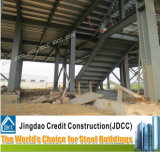 Faible coût de construction de cinq étages de la structure en acier