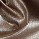Couro Textured Animal-Amigável do falso do standard alto por atacado para o sofá da mobília