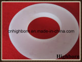 Borde escarchado opaco modificado para requisitos particulares del vidrio de cuarzo de la silicona