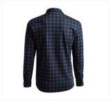 Новейшей конструкции OEM 100% хлопок Клетчатую печать футболки для мужчин