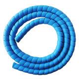 Luva protetora da espiral flexível do PE para máquinas de mineração