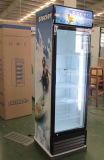 Upright Beverage Display Cooler 1 Porta de vidro Vertical Showcase Cold Drink / Soft Drink