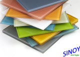 Sinoy Sinolaco Branded 2mm - 6mm Interior Applications를 위한 Colorful Back Painted Glass/Lacquered Glass