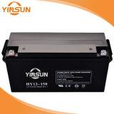 Batería de plomo ácido AGM 12V150AH Terminal Frontal recargable sellada batería de alimentación