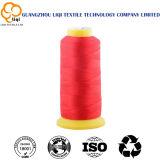 210d/3革製バッグのための高い粘着性ポリエステルフィラメントの縫うヤーン