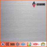 El panel compuesto de aluminio de Ideabond (AE-32B, cepillo del oro)