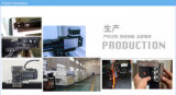 Type machine de portique de découpage de laser de fibre d'application de matériel