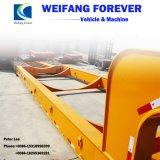 永久にWeifangの低いベッドのセミトレーラー50トンの運ぶ3axle機械装置