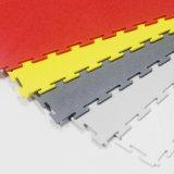 Tegel van de Vloer van pvc de Geweven, Tegels van de Vloer van pvc de Met elkaar verbindende met Geweven Oppervlakte