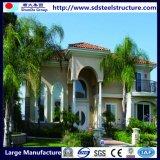 Acero de la luz de dos habitaciones confortables fábrica de construcción prefabricados de acero
