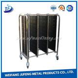 Radiateur en aluminium personnalisé de profil avec la fabrication de tôle
