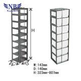Бак жидкого азота и вертикальный тип шкафы замораживателя нержавеющей стали