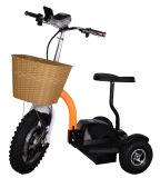 48V 500W 3 Rodas scooters eléctricas portáteis com o assento para adultos