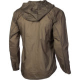 100% poliéster leve e impermeável Sport Running Jacket
