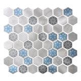 2017 ¡Nuevo! Mosaico de metal con el patrón hexagonal
