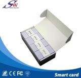 Fábrica de cartões RFID 13.56MHz Mf 1K o leitor de Smart Card