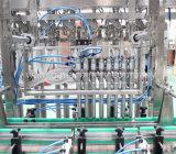 Tipo linear enchimento do xarope de 8 cabeças e máquina da selagem