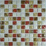 Tuile de mosaïque en verre en céramique de piscine de salle de bains