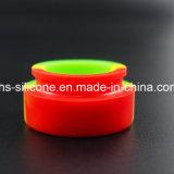 China Wholesale colorido contenedor irrompible 5ml de silicona para fumar Accesorios