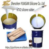 Het witte Vloeibare Rubber van Silicone rtv-2 voor Concrete Vormen