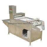 沸かされた鶏の鶏卵の皮機械