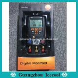 Testo originale549 à 2 soupapes du collecteur numérique Manomètre Testo 549 No. 0560 0550 avec deux capteurs de pression Temperature-Compensated