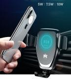 Rápida automática inalámbrica de pared Cargador de coche para iPhone Samsung Huawei Xiaomi