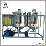 2018 La nueva refinería de petróleo crudo de soja la máquina de extracción de aceite de salvado de arroz refinado y aceite de maní comestible refinado máquina