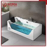 Woma 67 '' /1700*800*580mm 1 Populaire Ontwerp van de Badkuip van de Badkamers van de Ton van de Persoon het Acryl Hete (Q408)