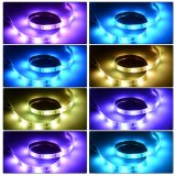 Большой светлый SMD 5050 RGB гибкая лампа газа